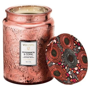 Persimmon & Copal Large Jar Candle