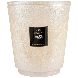Santal Vanille 5 Wick Hearth Candle