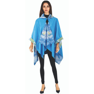 Monet Waterlilies RainCape