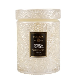 Santal Vanille Small Jar Candle