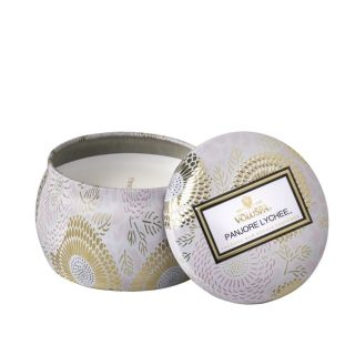 Panjore Lychee Petite Tin Candle